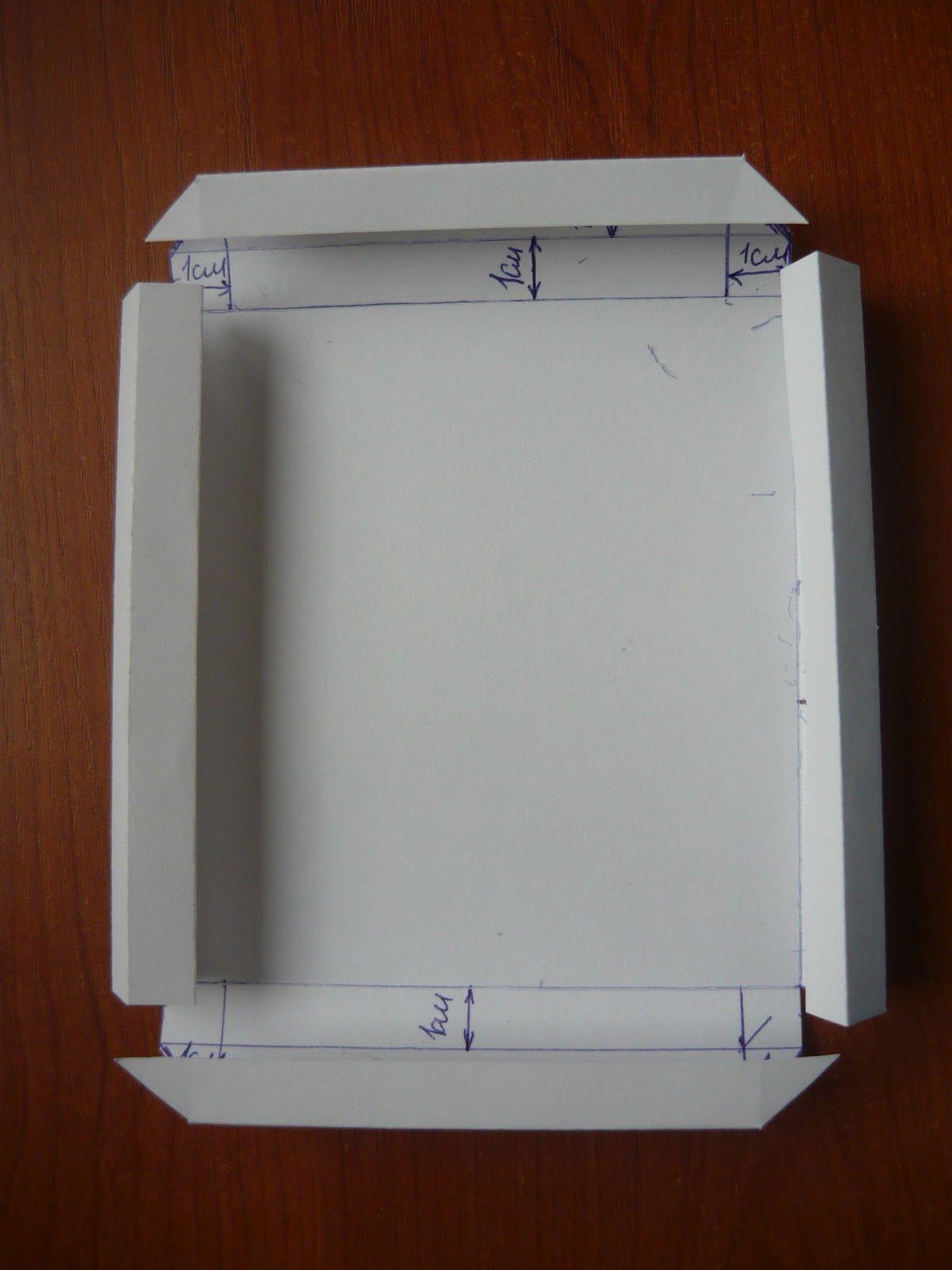 Схемы рамок для фото из бумаги своими руками