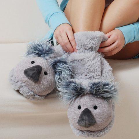 Тапочки в виде коалы