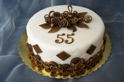 Торт на 55.