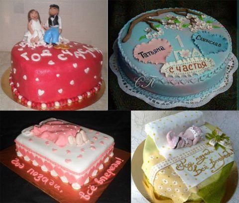 Варианты тортиков