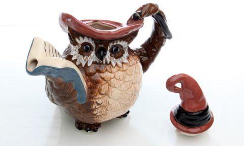 Заварной чайник необычной формы