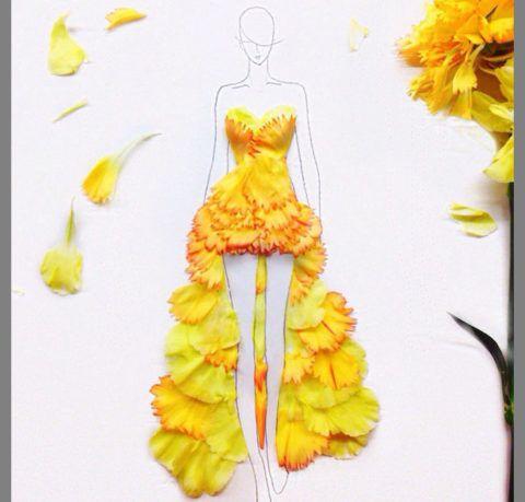 Желтые краски