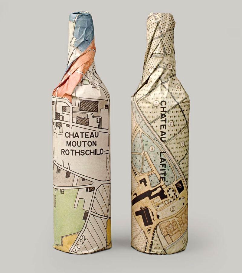 Необычная упаковка для вина своими руками 2