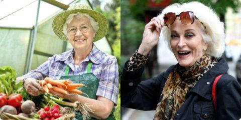 Бабушки совсем разные – и презенты для них должны быть такими же