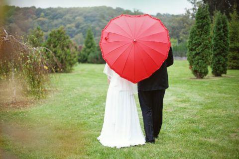 Можно подобрать форму зонта «в тему»