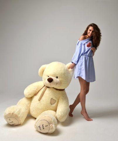 Мягкая игрушка – медведь, это очень романтичный подарок