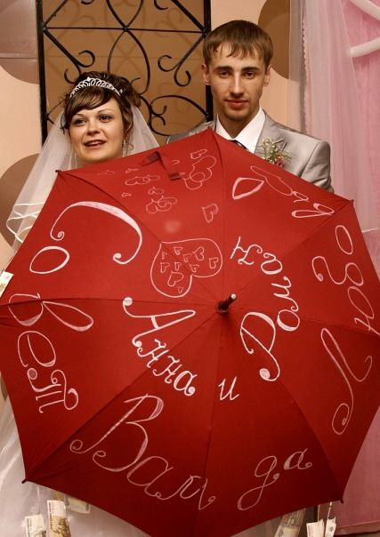 Зонт подарок на свадьбу стихи 59