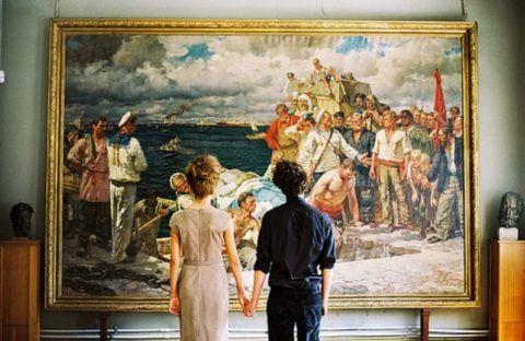 Посещение картинной галереи.