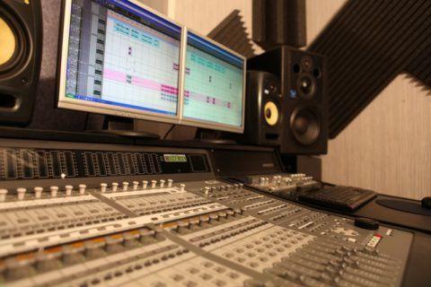 Профессиональная звукозапись на студии