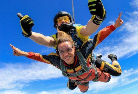 Прыжок с парашютом – настоящий экстрим!