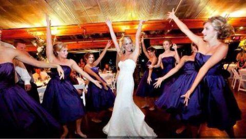 В центре внимания – невеста