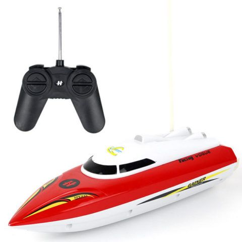 Яхта на пульте управления
