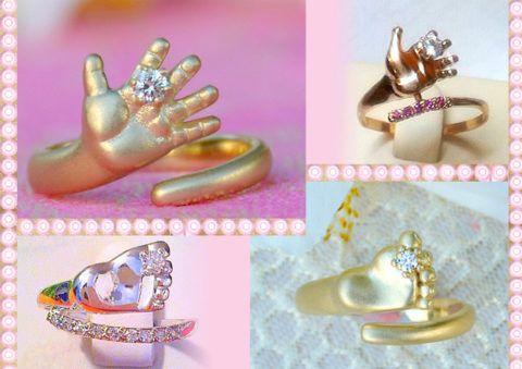 Золотые кольца в подарок за сына.