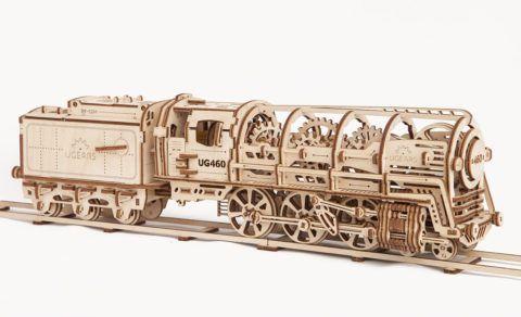 Деревянный механический конструктор