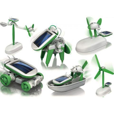 Конструктор на солнечных батарейках