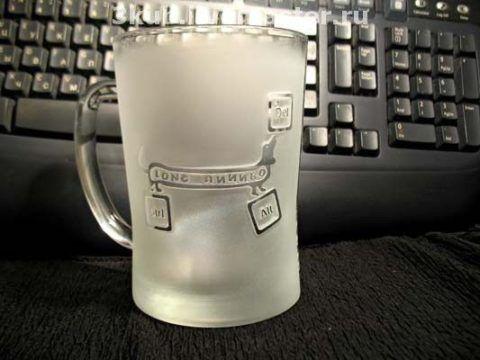 Кружка для уничтожения пива