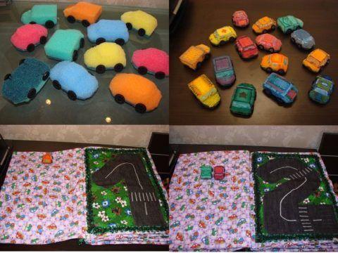 Машинки и странички.