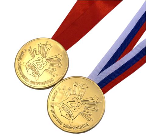 Медали-конфеты
