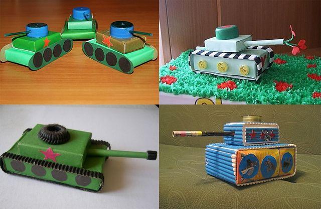 Поделки из спичечных коробков для детей 8 лет 54