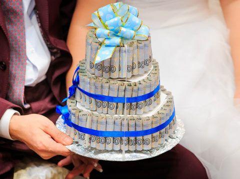 Трёхъярусный торт.