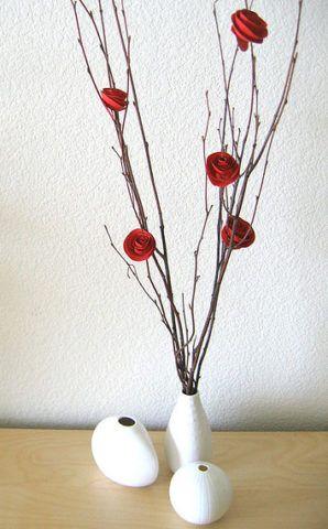 Ветки с розами