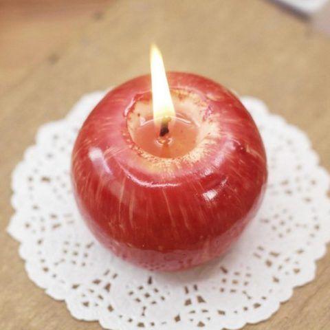 Вы только посмотрите на эту прекрасную и необычную свечу!