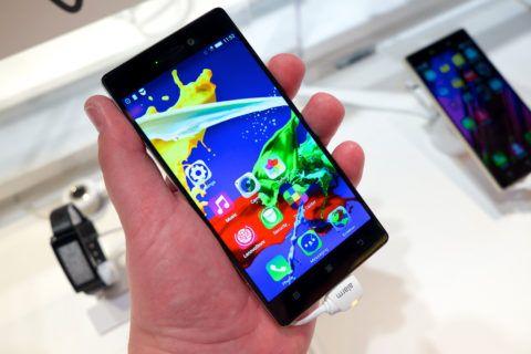 Еще один вариант качественного и относительно недорогого смартфона – Леново.