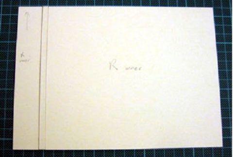 Лист альбома.