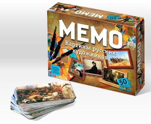 Настольная игра «Мемо»