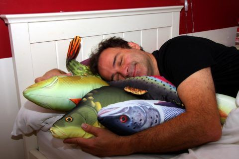 Подушка-рыба