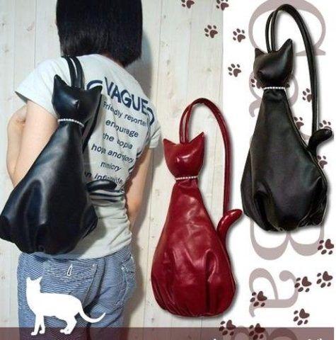 Полезная сумочка-котик