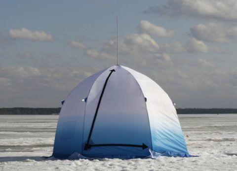 Удочки и палатки