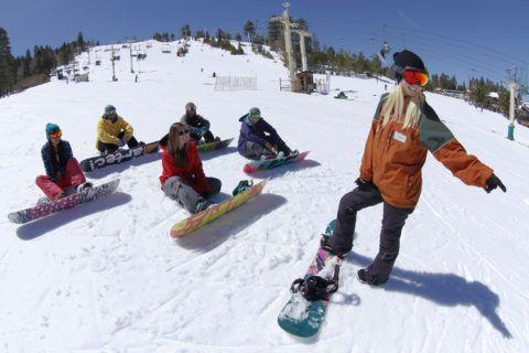 Урок по сноубордингу