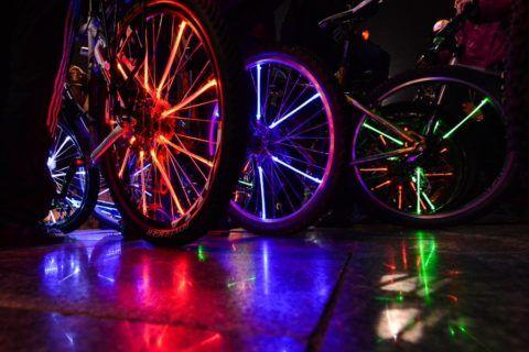 Велосипед с подсветкой