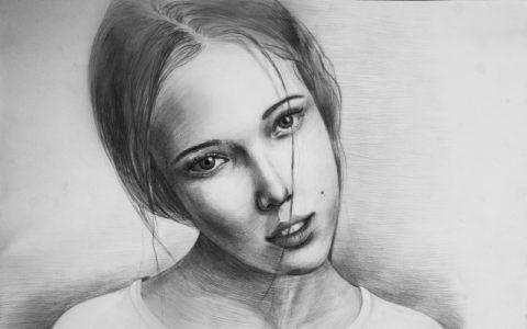 Что подарить любимой девушке на 14 лет – ее портрет!