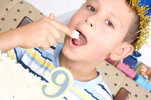 День рождения в 9 лет – самый лучший праздник для ребёнка