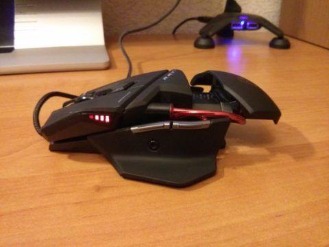 Любитель игр оценит геймерскую мышку.