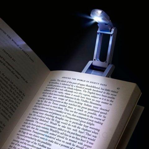 Очень удобная лампа, которая позволит читать, не отвлекая других.
