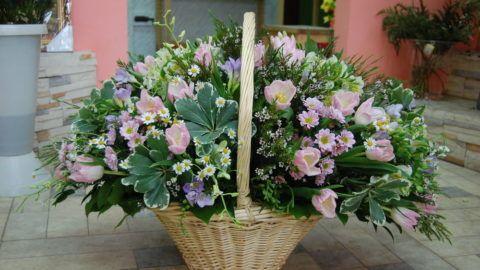 Пышный букет цветов