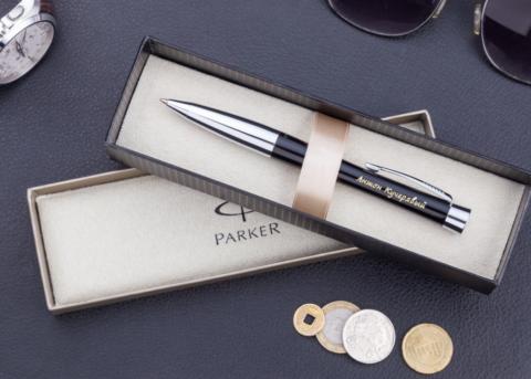 Ручки от Паркер считаются самыми качественным и элитными.