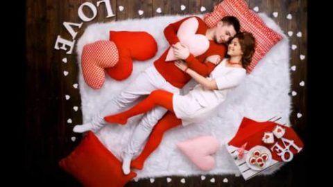 Устройте совместную фотосессию с романтической тематикой.