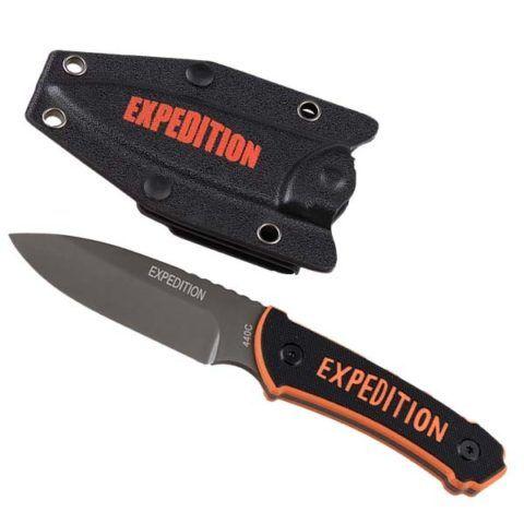 В любом похоже пригодится складной нож.