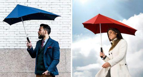 Аэродинамический зонт