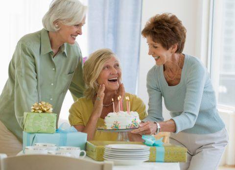 Чем обрадовать маму на 70-летие?