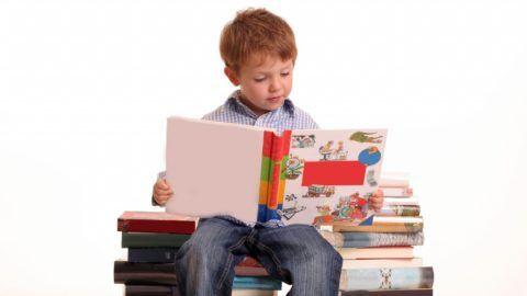 Чтение способствует умственному развитию ребёнка
