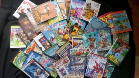 Что насчет коллекции мультфильмов?