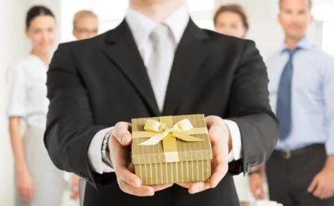 Что подарить коллегам?