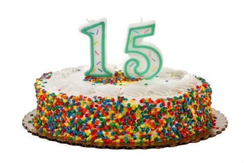 День рождения в 15 лет – настоящий праздник!