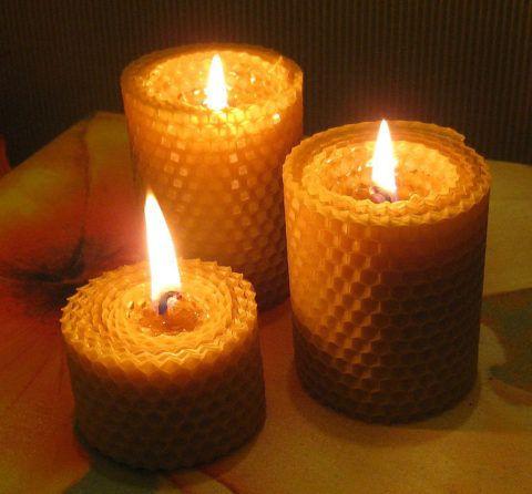 Эффектные свечи, которые простые только на первый взгляд.