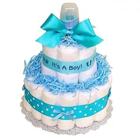 Красивый и полезный торт из подгузников!